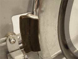 the brake pad