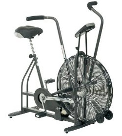 fan exercise bike. fan based resistance. this type of exercise bike indoor training bikes