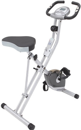 Exerpeutic Magnetic Upright Bike with Heart Rate Monitor
