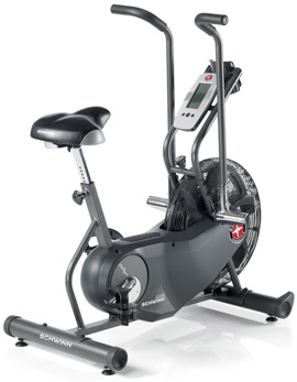 Schwinn AD6 Bike with Heart Rate Monitor