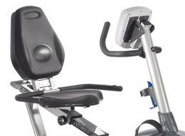 Recumbent bike seat